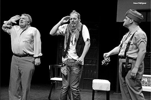 """Imagen de una escena de la obra """"Bang! El vodevil"""""""