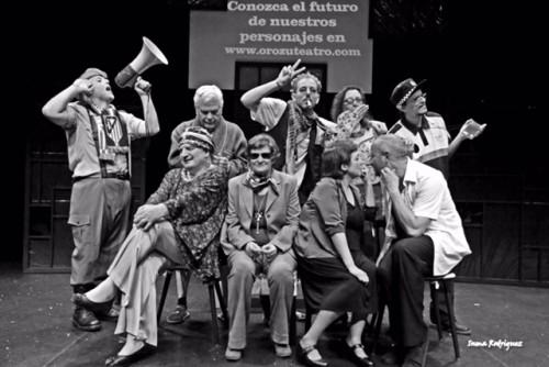 Grupo de teatro Orozú
