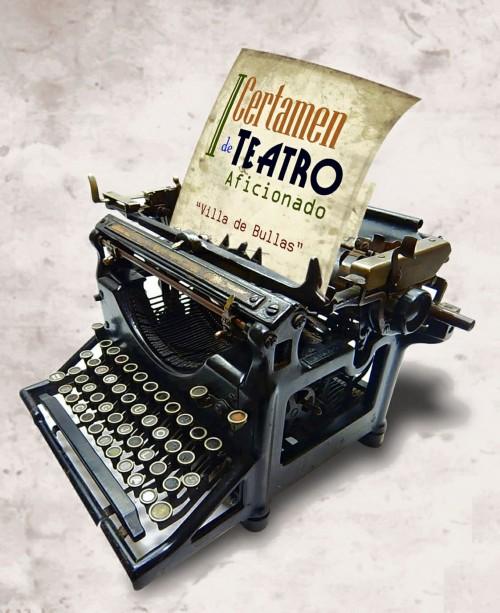 Cartel oficial del Certamen de teatro