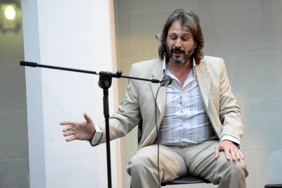 Miguel Ángel Tejero en un actuación