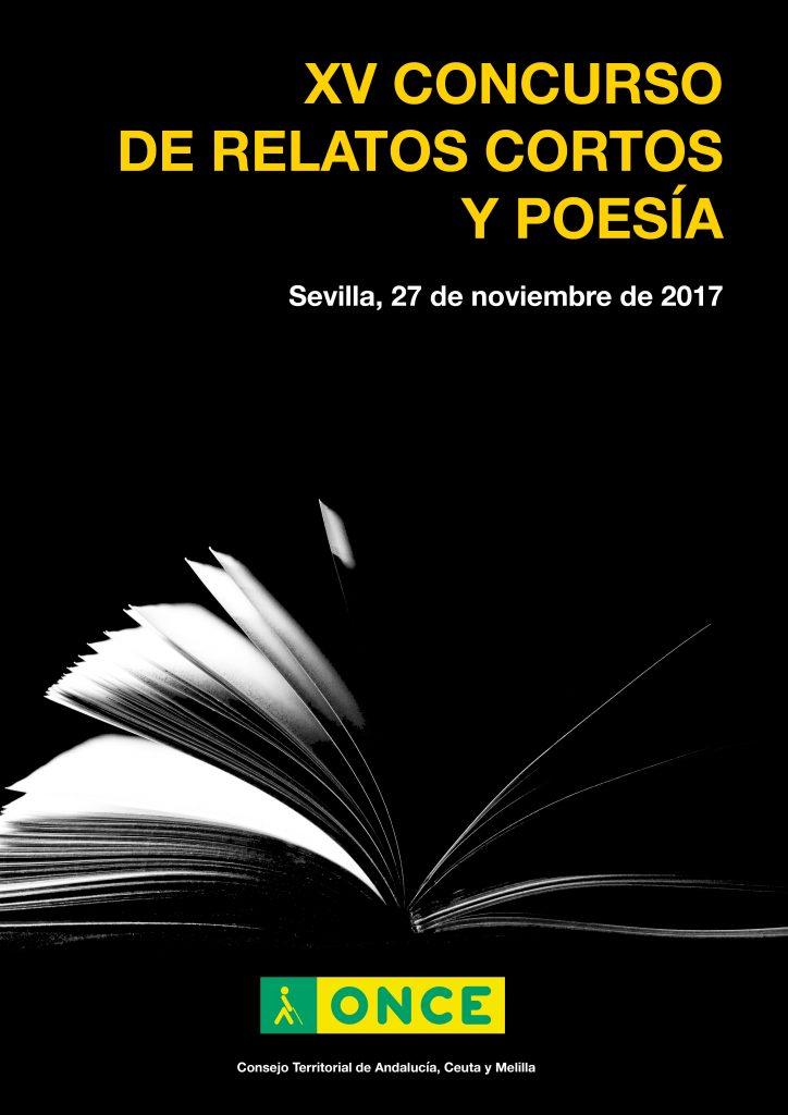 Cartel oficial del XV Concurso de Relatos Cortos y Poesía