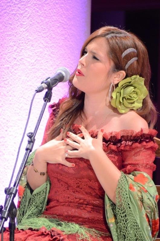 Judit Alférez es una nueva voz flamenca, un valor en alza