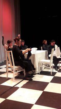 Un momento de la interpretación de La Bernarda a cargo de Jacaranda11