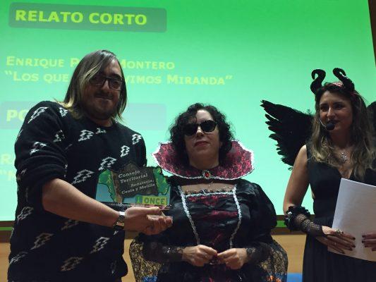 La presidenta del Consejo Territorial entregó el premio a Raúl Delgado