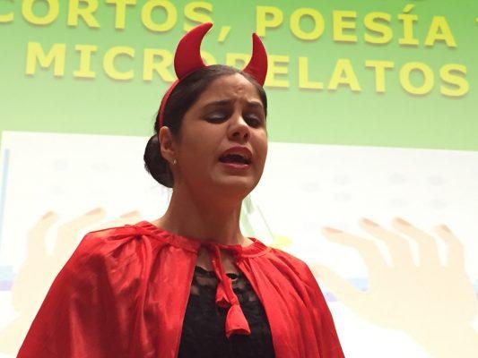 Preciosa resultó la voz de Marina Rojas como colofón de la entrega de premios