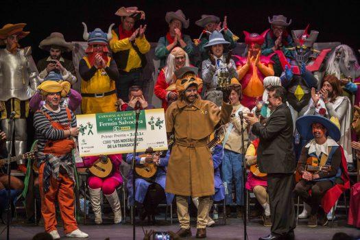 El coro 'Los nostálgicos de la Transición', ganadores del Fermín Salvochea 2018