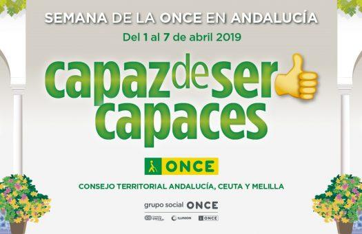 Imagen - La Semana de la ONCE, 'Capaz de ser capaces', llena de cultura Andalucía
