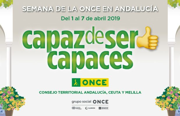 Cartel oficial de la Semana ONCE 2019