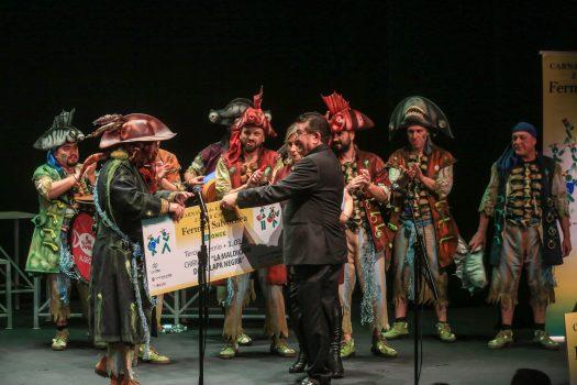 El director general de la ONCE entregó el tercer premio