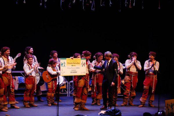 El subdelegado del Gobierno en Cádiz entregó el primer premio