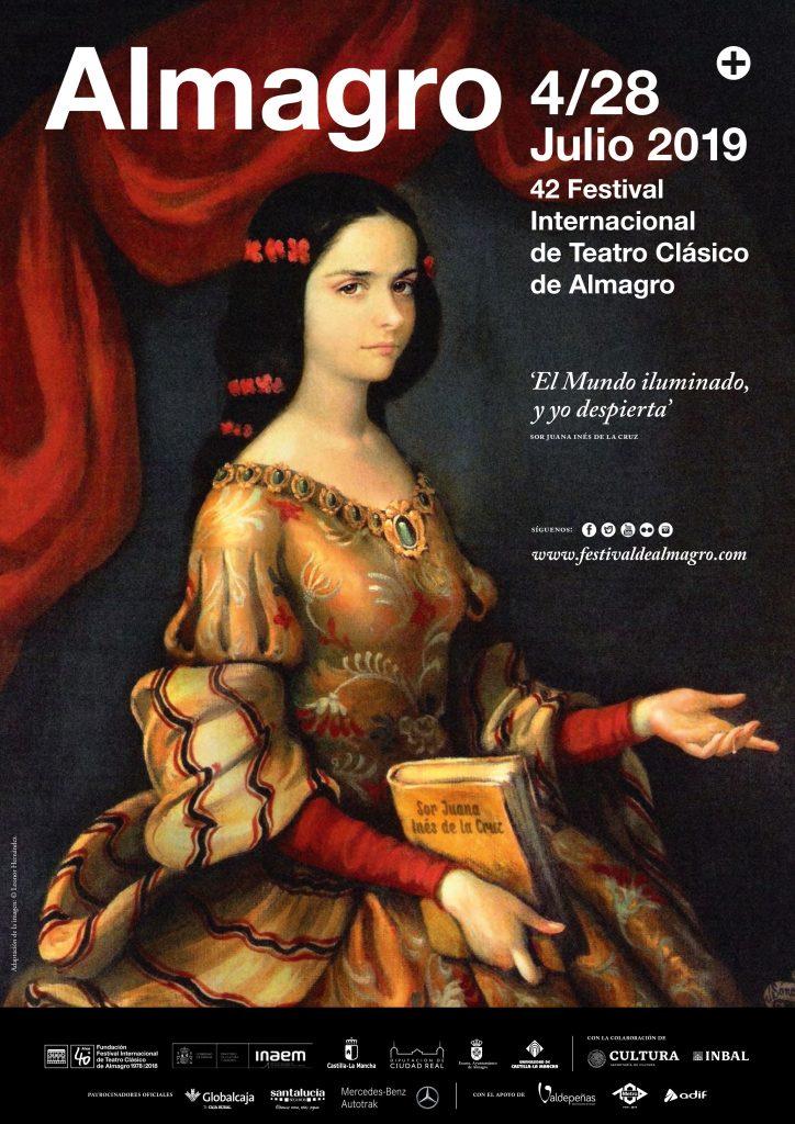 Cartel oficial del 42 Festival Internacional de Teatro de Almagro