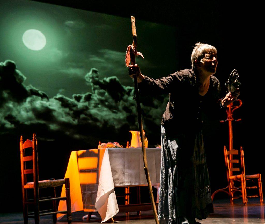 Domínguez reivindica en esta obra el lado más femenino y feminista de Lorca
