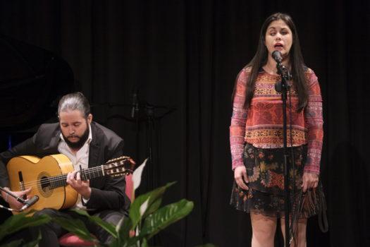 Imagen - Los malagueños Marina Rojas y Sergio Molido y la almeriense Teresa Cobo ganan el VII Concurso Musical de la ONCE