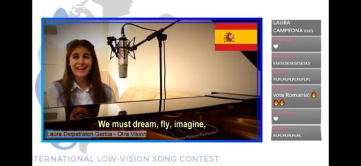 Imagen - Laura Diepstraten da a España el triunfo de la Eurovisión para artistas ciegos